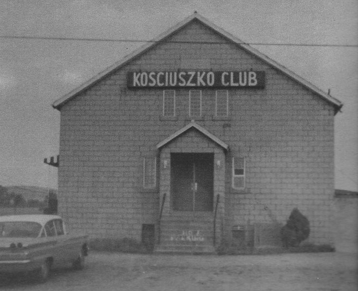 The original Kosciuszko Club in Mt. Pleasant, PA.
