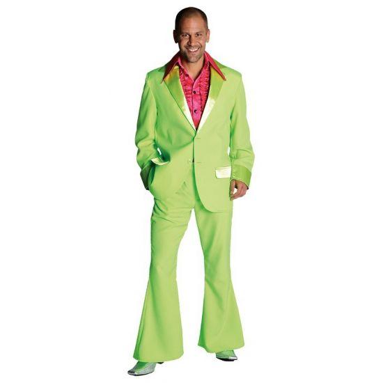 Groene disco pakken voor heren