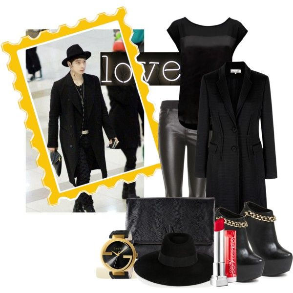 """""""Mafioso ft Chansung 2PM"""" by pritasafitri on Polyvore"""