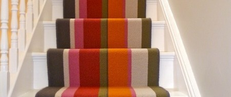 Best Crucial Trading S Audrey Sunrise Striped Carpet As Stair 400 x 300
