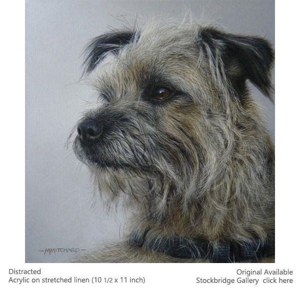 Marc Mitchard Acrylic Artist Birds Dogs Originals Paintings