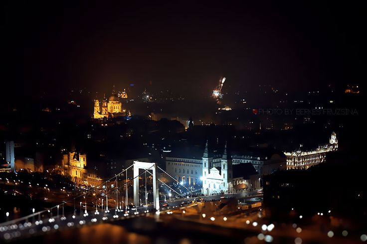 New Year's Eve in Hungary, Budapest