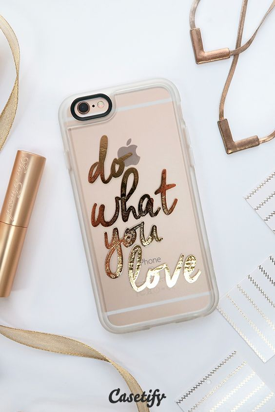 Do what you love! Click through to shop our #staygold collection >>> https://www.casetify.com/collections/stay_gold#/ #phonecase | @casetify