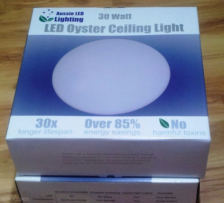 Quality LED Oyster lights - Aussie LED Lighting by AussieLEDlighting - $30.00