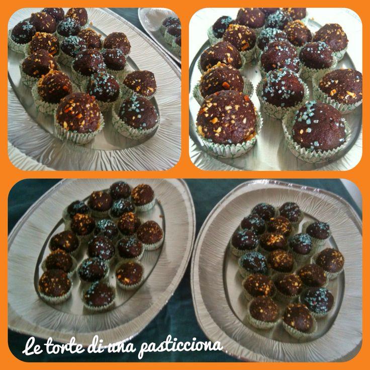 Praline al cioccolato speziate alla cannella
