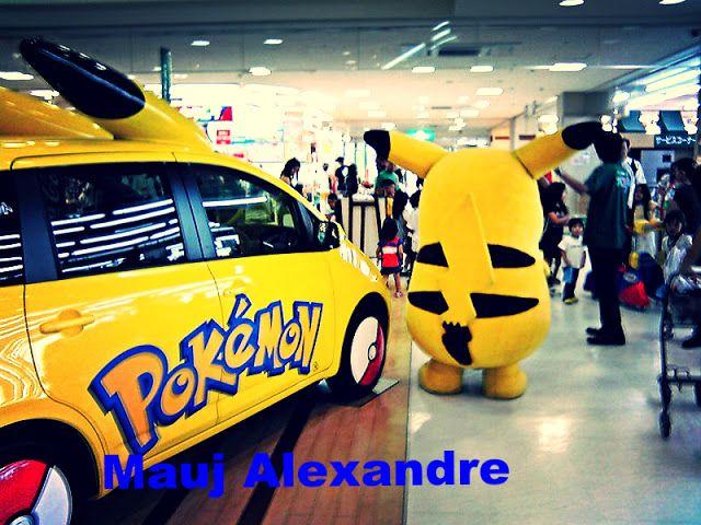 0 Gr4nd3 A!mana?ue - Por Mauj Alexandre: Carro Pokémon Pikachu no Japão - Grande Almanaque Mauj