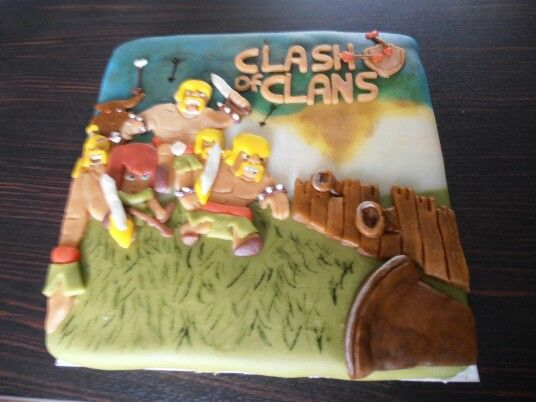 taart clash of clans