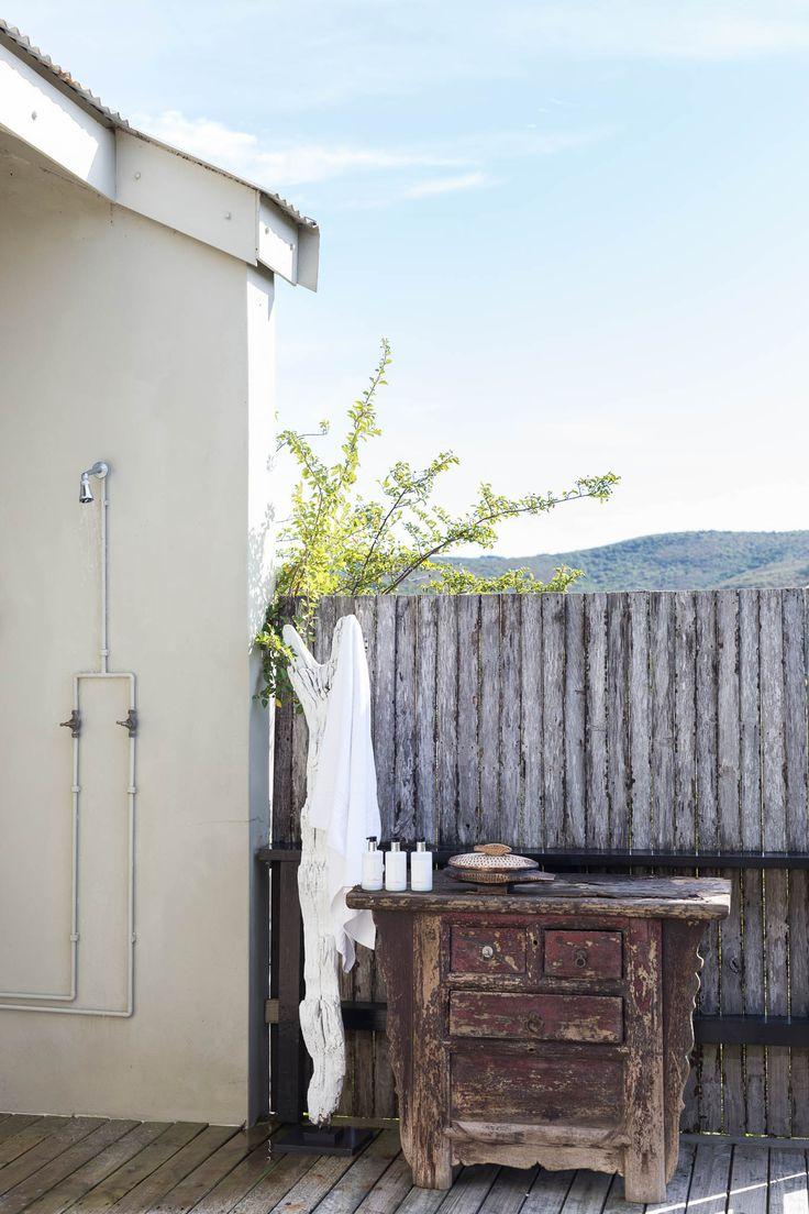 Emily Moon's Honey Moon Suite | Outside shower | Plettenberg Bay | South Africa