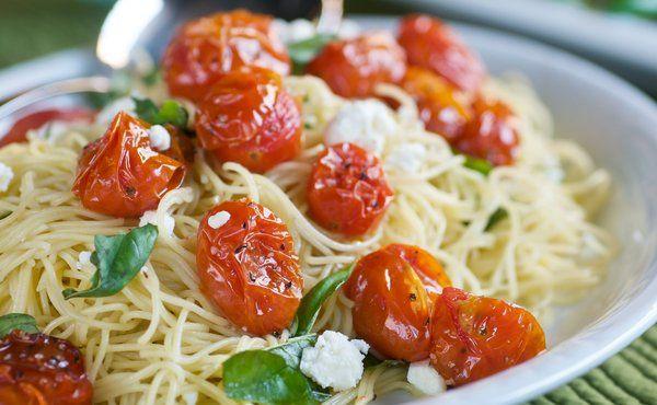 roasted tomato pasta made pasta roasted cherry tomatoes pasta pomadoro ...