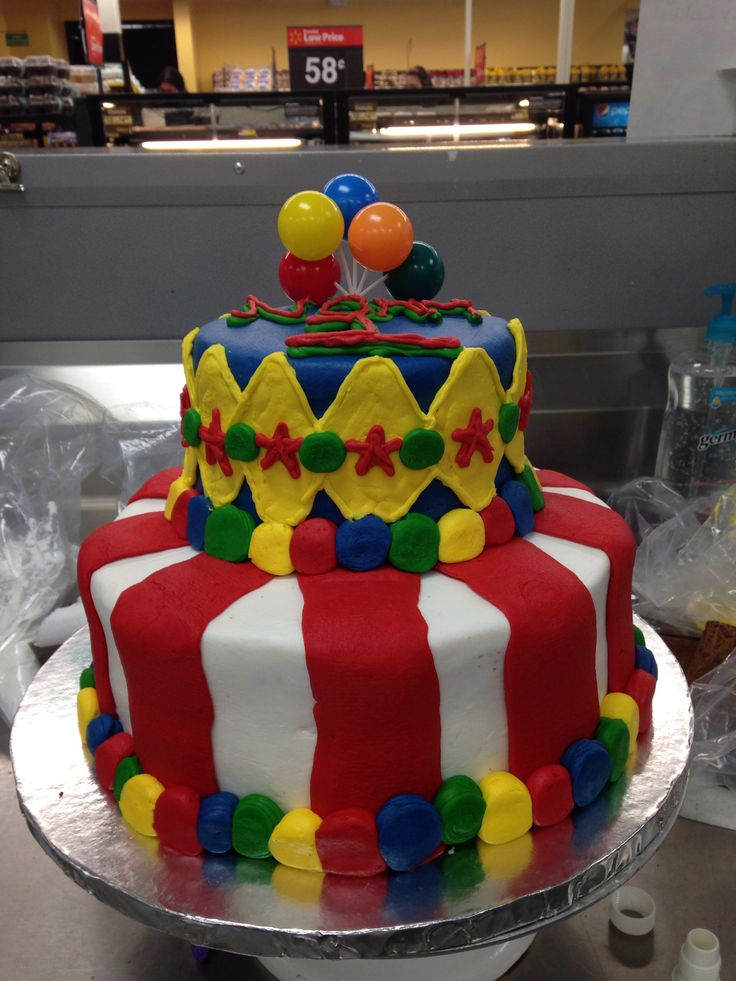 Walmart Two Tier Birthday Cakes