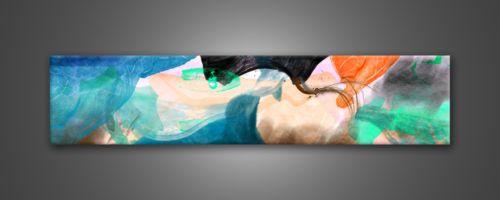 Quadri-moderni-stampe-su-tela-FABULA-180-x-40-cm-leinwand-bild-bilder-canvas