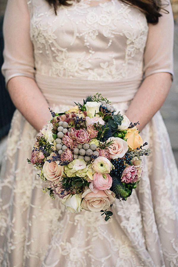 71 best Vintage Flowers images on Pinterest | Bridal bouquets ...