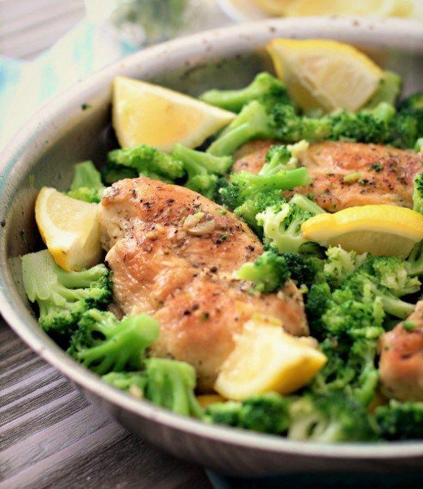 Brokoli ve Limonlu Tavuk