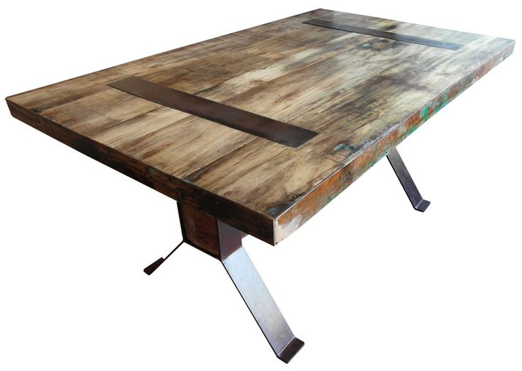 The  best  about Reclaimed Wood Table Ideas on Pinterest
