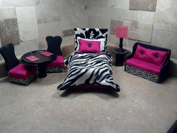 Barbie Furniture / Monster High Furniture by NanasBarbieFurniture, $69.95