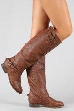 PERFECTION!: Shoes, Fashion, Riding Knee, Style, Knee High Boot, Buckle Riding, Knee Highs, High Boots