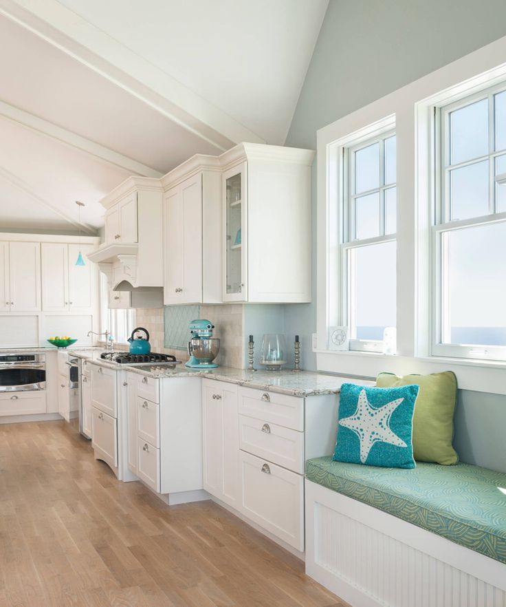 When it came time for a long-planned dream to become a reality, interior designer Lisa Zompa of Kitchen Views made it happen! She worked closely with the homeowners of this Narragansett, Rhode Isla…