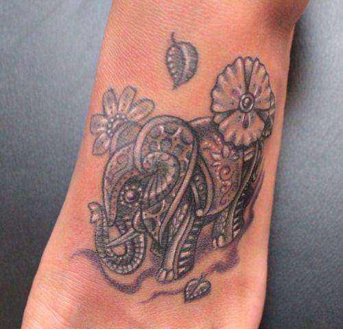 Elephant foot tattoo love tattoo pinterest for Elephant foot tattoo