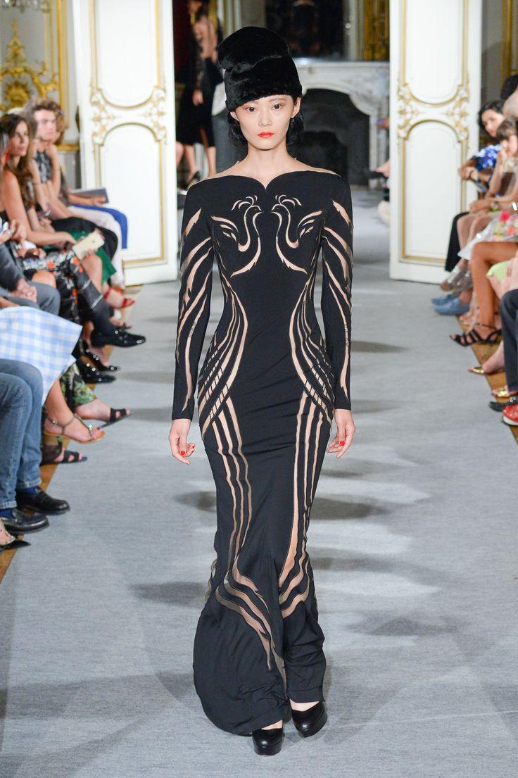 Look 25 Yanina Couture FW1516 #yaninacouture