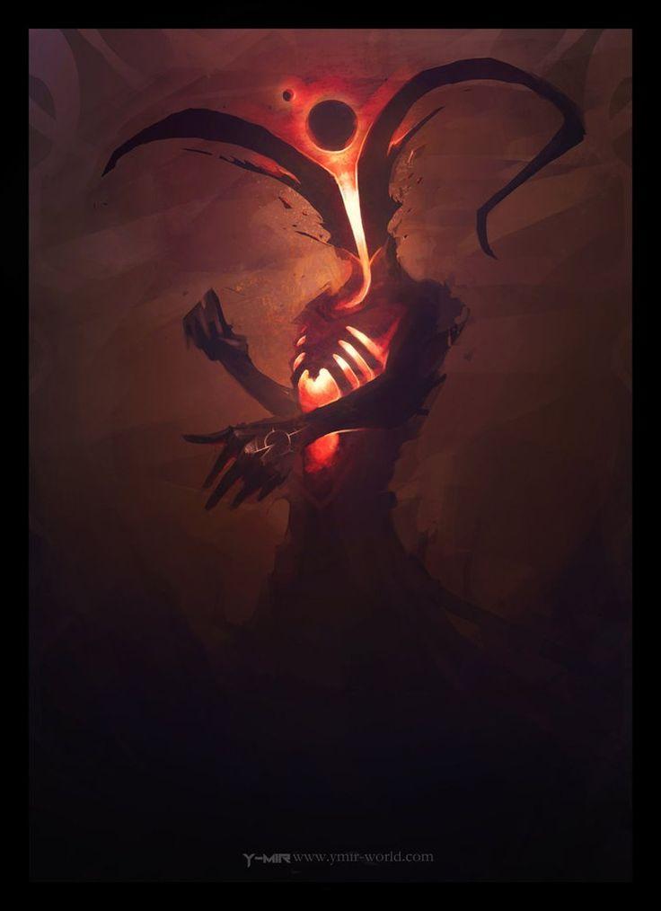 demon fantasy art porn