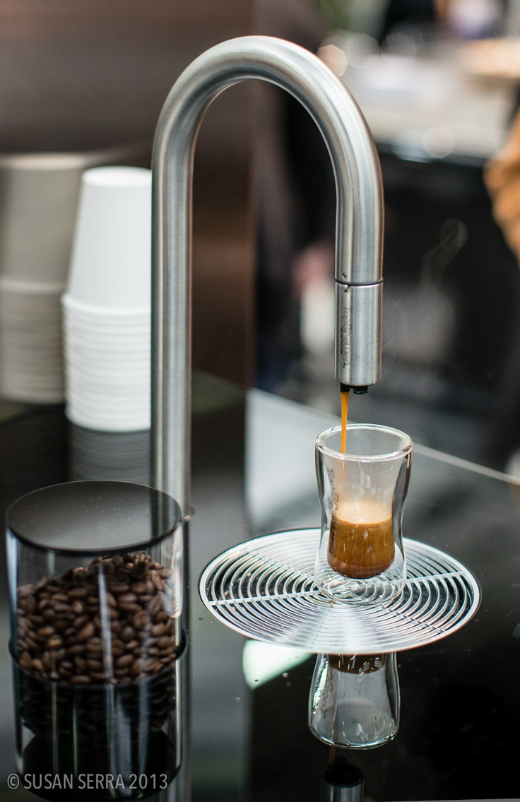 A new appliance in town for coffee, functions with a phone app #modern #kitchen
