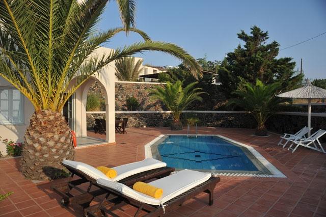 Villa with private pool - Pantheon Villas imerovigli Santorin