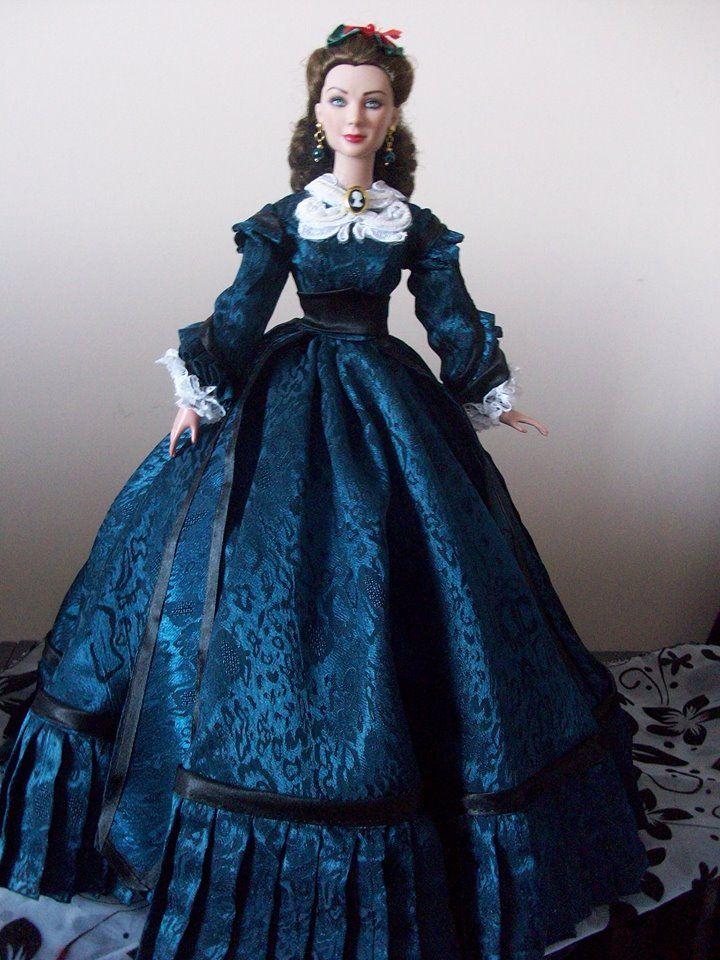 Scarlett O'hara doll