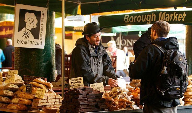 Λονδίνο: 12 αγορές τροφίμων που πρέπει να επισκεφτείτε