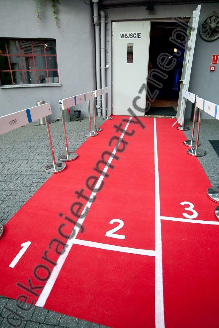 Olimpic entranceway / sport party --> http://www.dekoracjetematyczne.pl/Sport.html