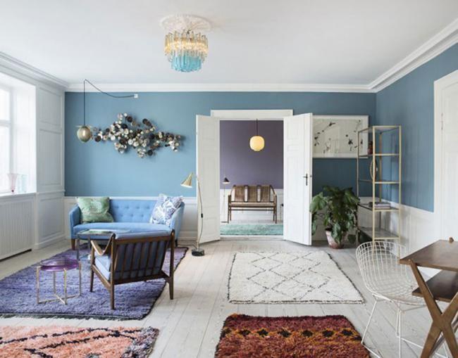 25 best ideas about alfombra en blanco y negro en for Sala de estar blanco y negro