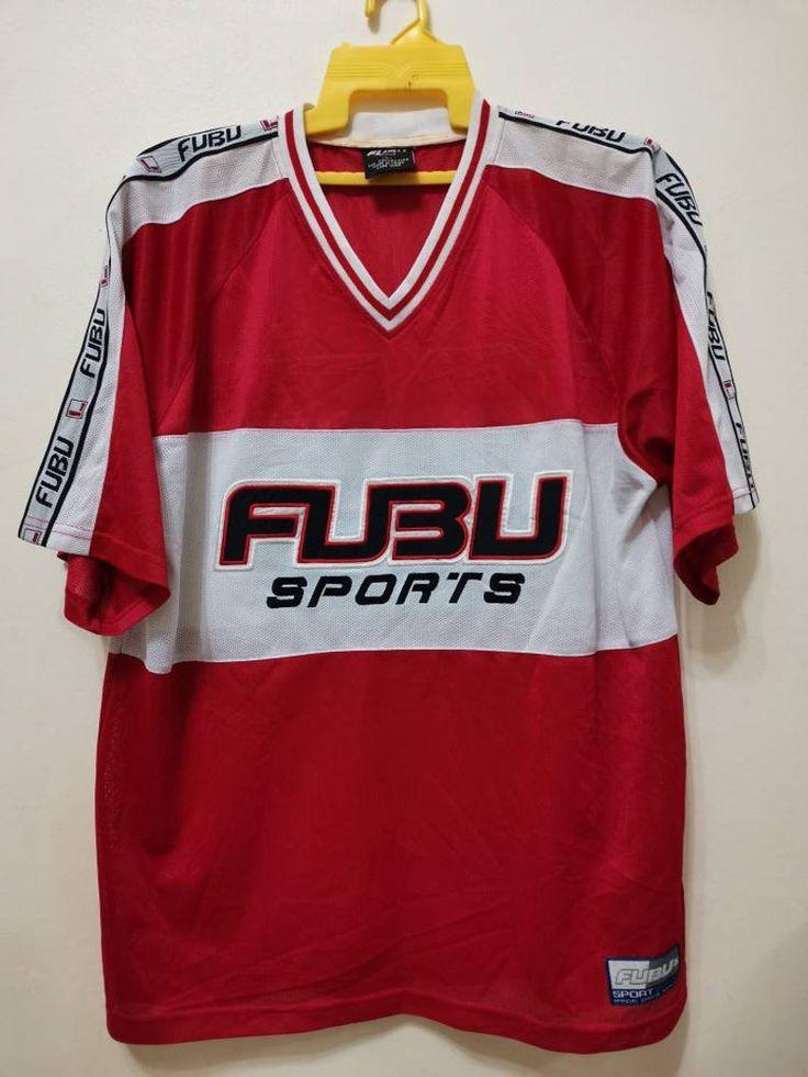 Vintage 90s FUBU Sports Jersey Shirt Classics Edition