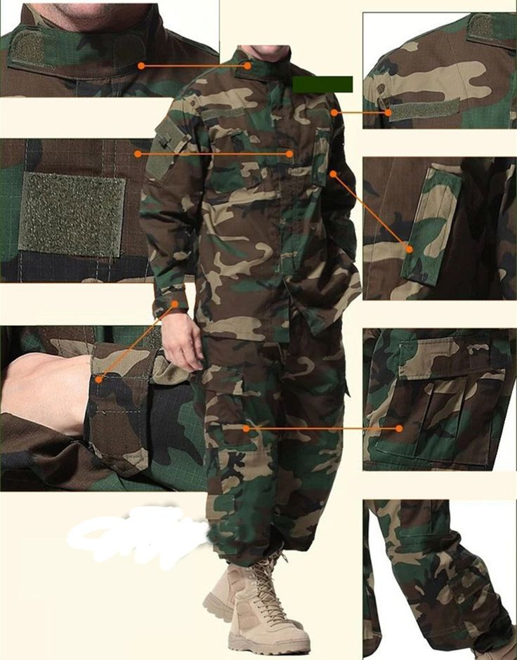 ==> [Free Shipping] Buy Best Outdoor Military Equipment Woodland Camouflage Tactical Airsoft Ghillie Suit Hunting Sniper Clothes Paintball Combat Shirt&Pants Online with LOWEST Price | 32799053236
