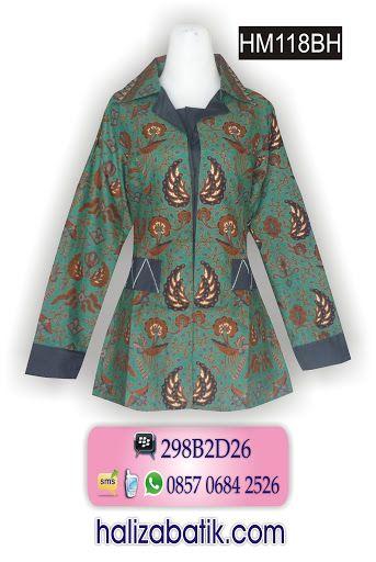 Blus batik model formal. Only 95Rb Order via SMS 085706842526 http://grosirbatik-pekalongan.com