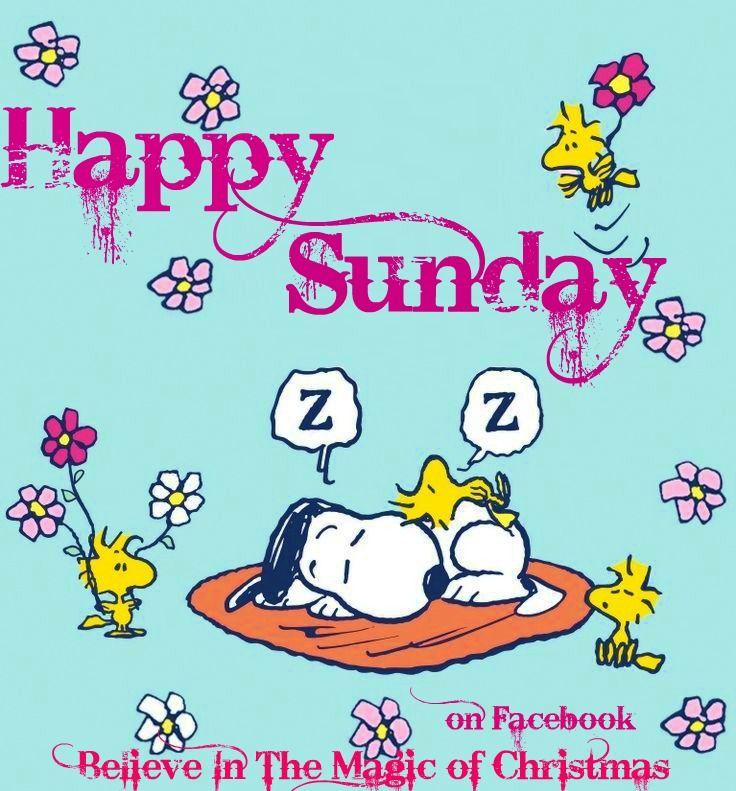 Snoopy Happy Sunday 10/18/15