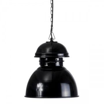 Индустриальный светильник в ярком исполнении. Черный шнур + металлическая цепь длиной 2 м             Материал: Металл.              Бренд: NAF-NAF House.              Стили: Лофт, Скандинавский и минимализм.              Цвета: Черный.
