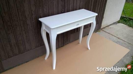 Konsola Classic z szeroką szufladą, meble, szafka, wnętrze, glamour, stylowa  Wymiary: 90x34 h76 cm,