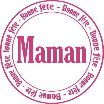 Pin by izamaxlia on etiquettes pinterest - Carte a imprimer bonne fete maman ...