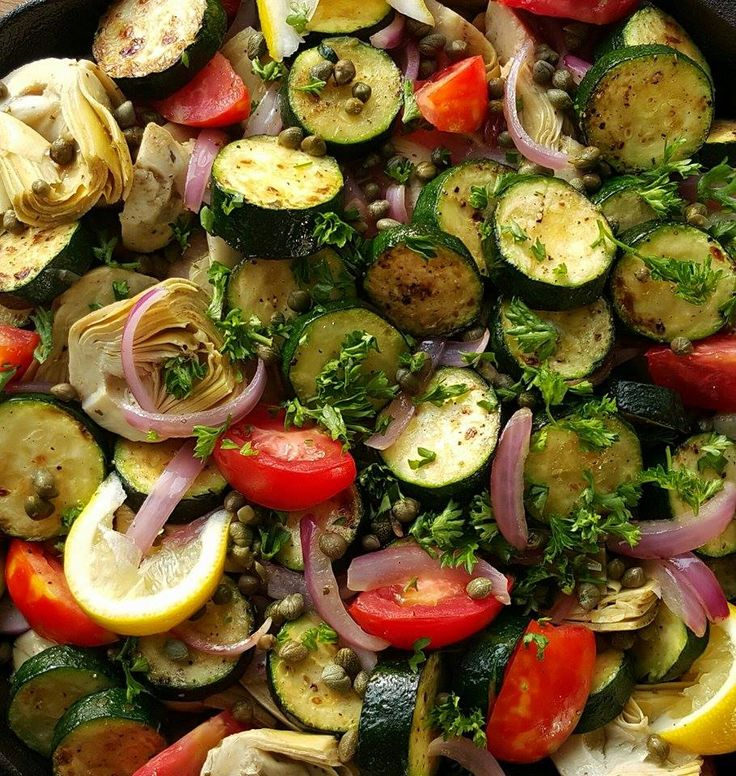106 best mediterranean inspired dishes images on pinterest greek inspired summer veggie skillet clean foodsclean recipesdiet forumfinder Gallery