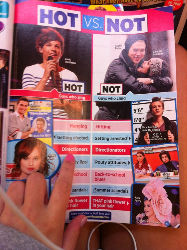 Who runs the world DIRECTIONERS.  YAYYY LOUIS!!!!!!!!!!!!!!!!!!!!!