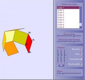 Librairie-Interactive - Cube animé en 3D logiciel pour aborder la 3D