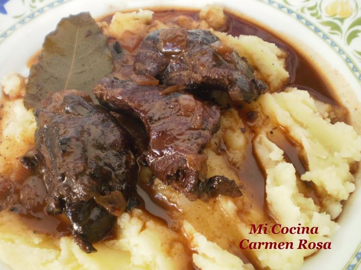 "Mi cocina: CARRILLERAS IBERICAS EN SALSA ""CHEEK TO CHEEK"""