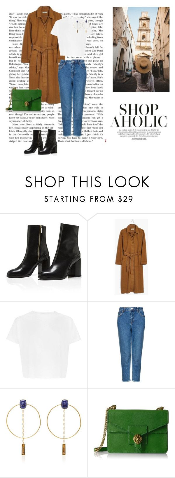 """""""Autumn city walk"""" by dorey on Polyvore featuring Madewell, Topshop, Isabel Marant and Anne Klein"""
