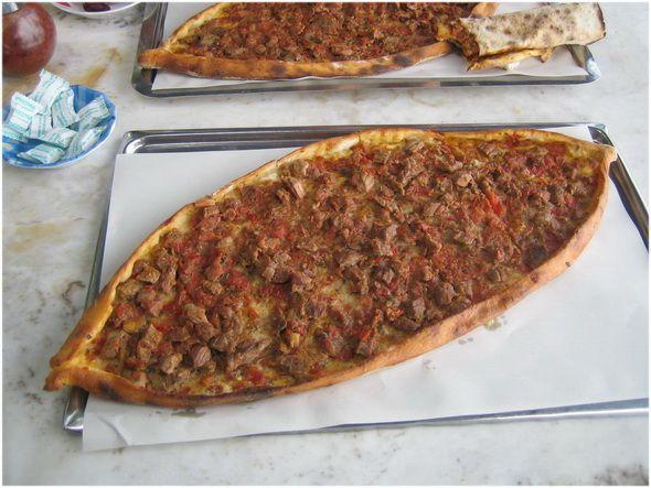 Pizza Turca Receta