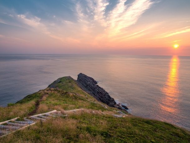 The First Sunrise in North America is in Newfoundland Canada