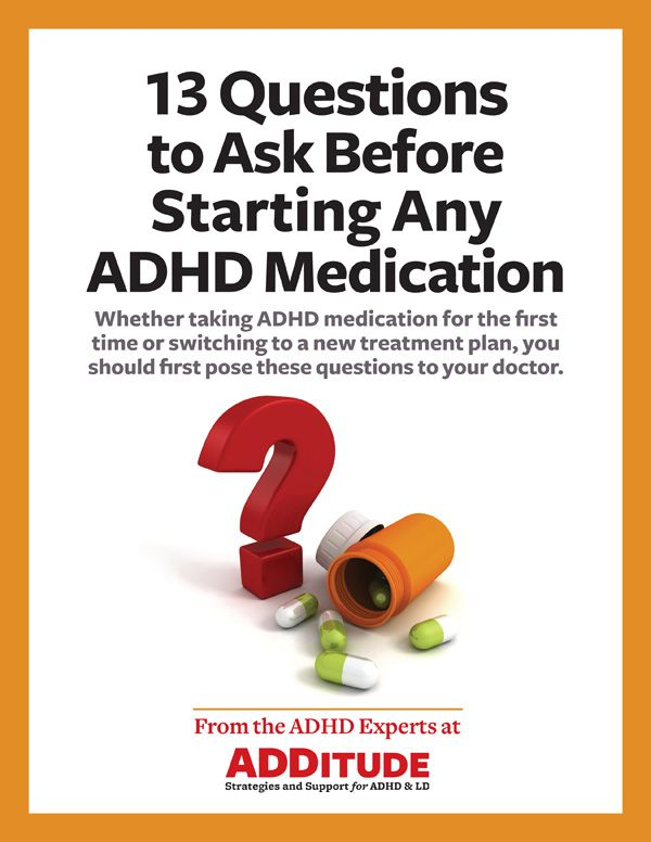 Think, Mild adult add medication