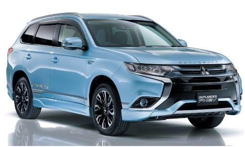 #Mitsubishi #PHEV. El primer SUV 4x4 híbrido enchufable