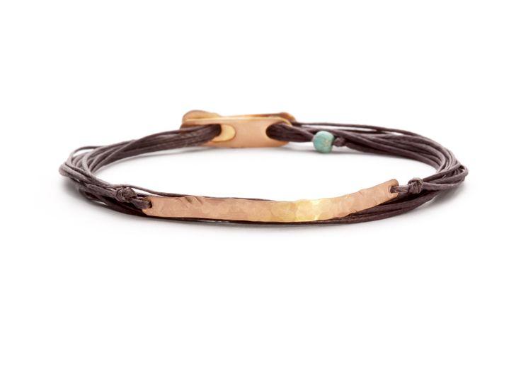 Apriati 7 cords plaque bracelet www.apriati.com