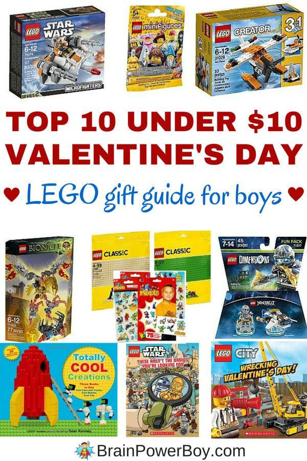 Top 10 LEGO Valentineu0027s Day Gifts For Boys Under $10.00