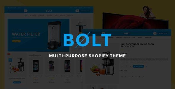 Bolt - Responsive Shopify Theme