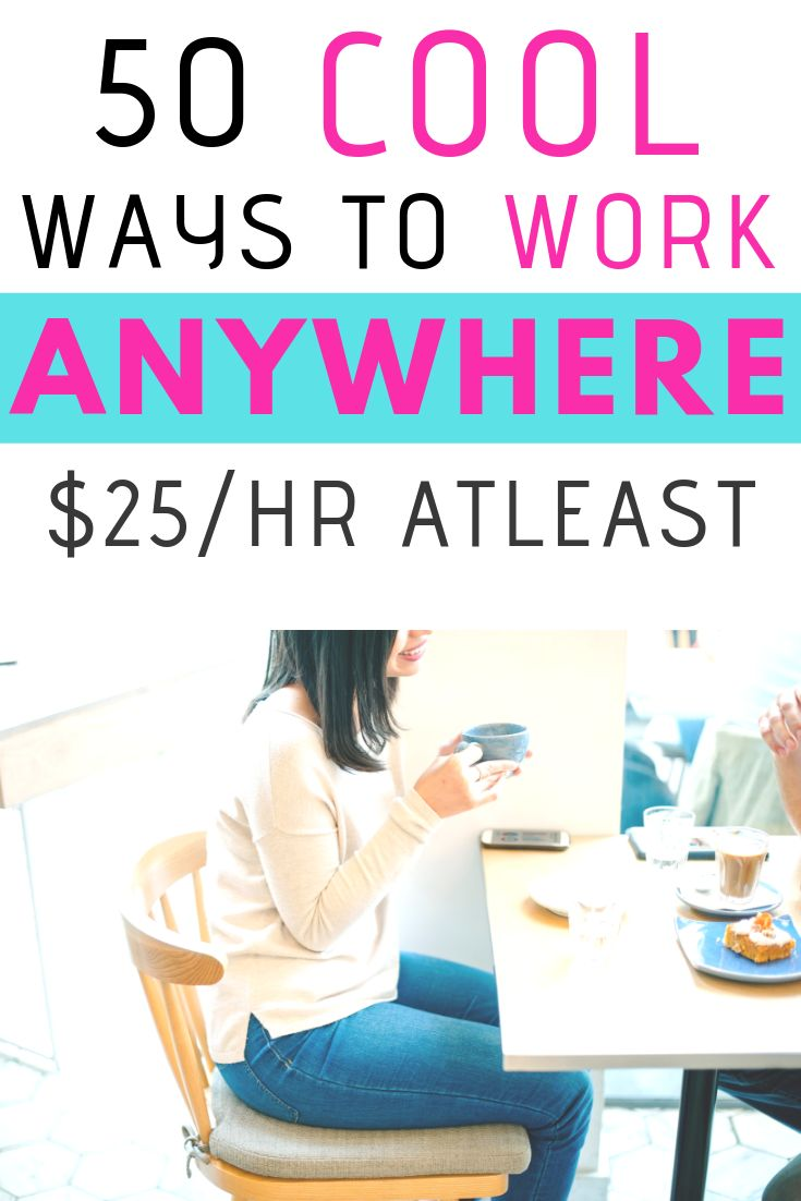 50 cool ways to work from anywhere